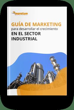 Mockup - guia de marketing crecimiento Industrial
