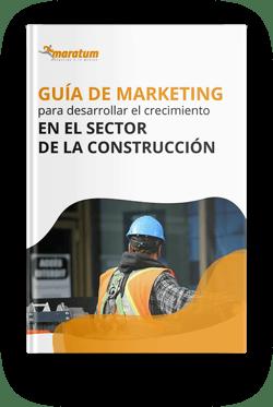 Mockup - guia de marketing para desarrollar el crecimiento en el sector de la construccion