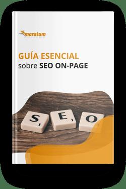 Mockup - guia esencial sobre seo on-page