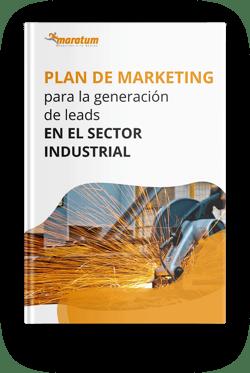 Mockup - guia generacion de leads sector industrial
