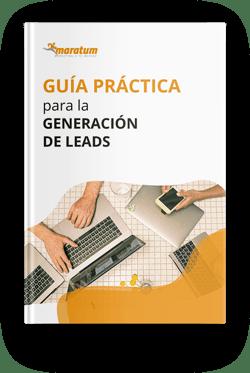 Mockup - guia practica para la generacion de leads